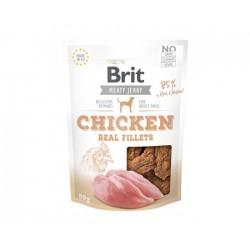 Brit jerky snack chicken fillets 80g