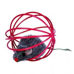 Trixie 4115 - Piłka Druciana z Myszką