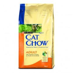 Purina Cat Chow Adult Kurczak i Indyk 15kg