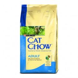 Purina Cat Chow Adult Tuńczyk i Łosoś 15kg