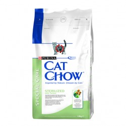 Purina Cat Chow - Sterilized Indyk 1.5kg
