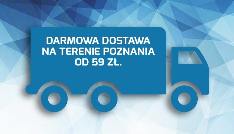 Darmowa dostawa w Poznaniu od 59 PLN