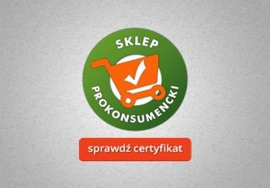 Sprawdź certyfikat - sklep prokonsumencki
